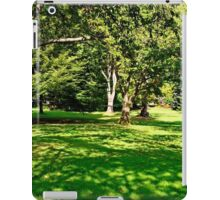 In Stanley Park, Vancouver BC September 2011 7 iPad Case/Skin