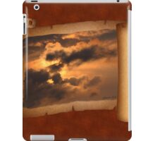 Ancient Dragon in the Sky ~ Clouds iPad Case/Skin