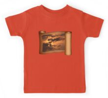 Ancient Dragon in the Sky ~ Clouds Kids Tee