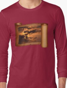 Ancient Dragon in the Sky ~ Clouds Long Sleeve T-Shirt