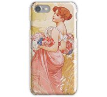 Alphonse Mucha - Etesummer iPhone Case/Skin