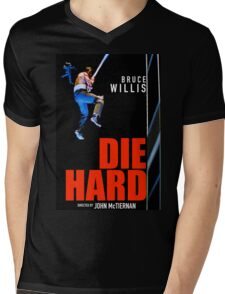DIE HARD 12 Mens V-Neck T-Shirt