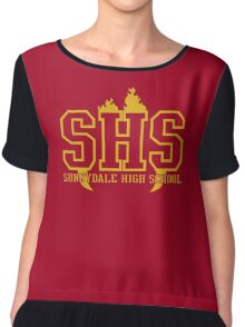 Sunnydale High Chiffon Top