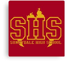 Sunnydale High Canvas Print