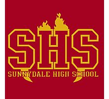 Sunnydale High Photographic Print