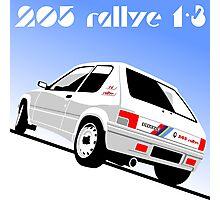 Peugeot 205 Rallye Photographic Print