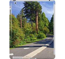 In Stanley Park, Vancouver BC September 2011 14 iPad Case/Skin