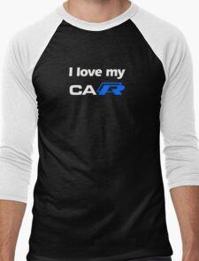 I love my caR Men's Baseball ¾ T-Shirt