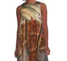 Cliffhanger A-Line Dress