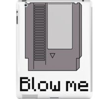 NES cartridge- blow me iPad Case/Skin
