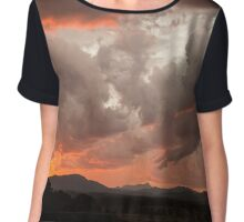 Mullum Sunsets Chiffon Top