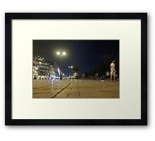 Riverside Walk Framed Print