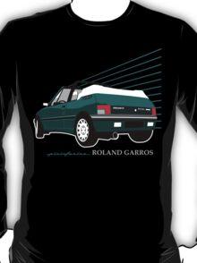Peugeot 205 cabriolet Roland Garros T-Shirt