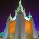 Night-Time Temple Aglow by ©  Paul W. Faust