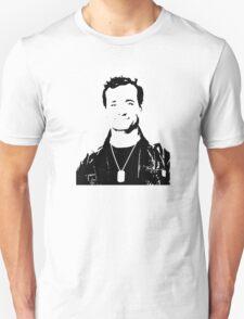 Bill Murray Stripes - Black Outline Unisex T-Shirt