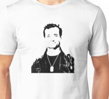 Bill Murray Stripes - Black Outline Unisex T-Shirt