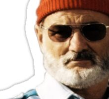 Bill Murray - The Life Aquatic non pixel  Sticker