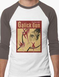 OVER 9000, GALICK GUN VINTAGE 2 Men's Baseball ¾ T-Shirt