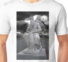 Moses by Michelangelo Unisex T-Shirt