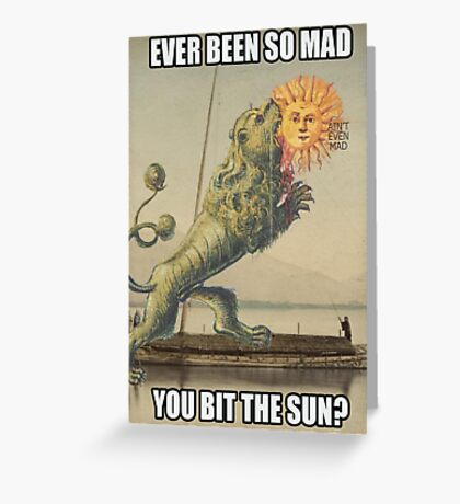 So mad! This Mad! Greeting Card