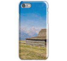 Mormon Row Barn iPhone Case/Skin