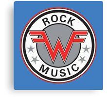 Rock Music Canvas Print