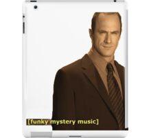 funky mystery music iPad Case/Skin