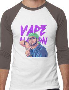 Vape Nation Men's Baseball ¾ T-Shirt