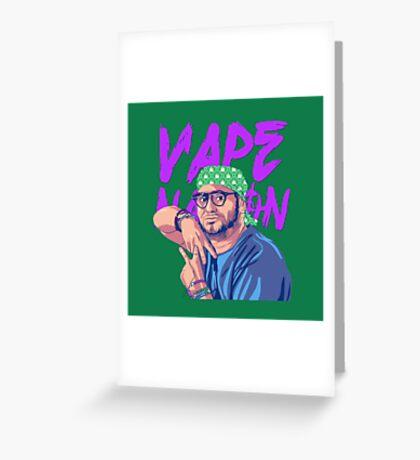 Vape Nation Greeting Card