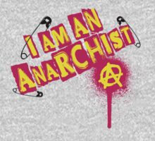 I am an Anarchist One Piece - Long Sleeve