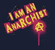 I am an Anarchist Kids Tee