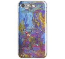 Claude Monet - Water Lilies 1917 iPhone Case/Skin