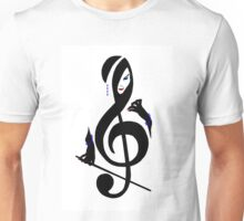 The Treble with Cello Girls Music Unisex T-Shirt