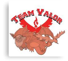 Team Valor Gear Canvas Print