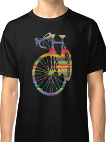 Vintage Rustic Grunge Racing Bicycle Classic T-Shirt
