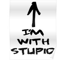 im with stupid Poster