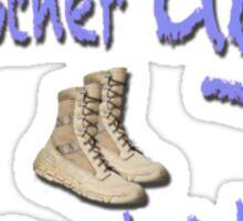 Combat Boots Sticker