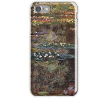 Claude Monet - Water Lilies 7 iPhone Case/Skin