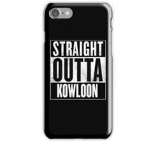 Straight Outta Kowloon iPhone Case/Skin