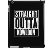 Straight Outta Kowloon iPad Case/Skin