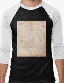USGS TOPO Map Arizona AZ San Francisco Mtns 315600 1894 250000 Men's Baseball ¾ T-Shirt
