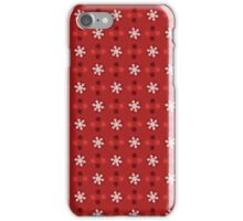 Christmas Pattern - Snowflakes iPhone Case/Skin