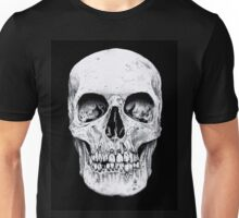 Skully's black and white Skull Unisex T-Shirt