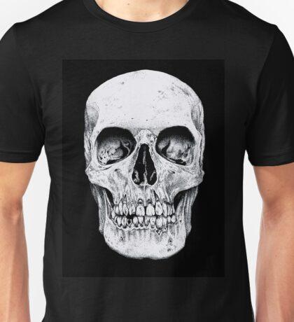 Skully's black and white Skull Unisex T-Shirt