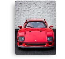 The Grandfather of the Supercar  Canvas Print