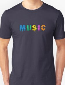 music colorful Unisex T-Shirt