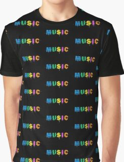 music colorful Graphic T-Shirt