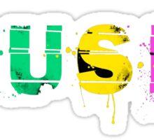 music colorful Sticker