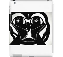 Creepy Face Four iPad Case/Skin