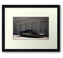The Slate Grey 458 Italia  Framed Print